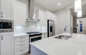 Kitchen Photo - Polar White Finished