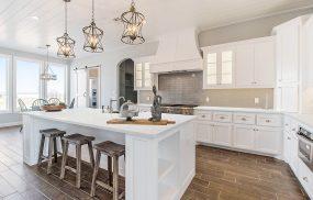 Kitchen Pictures - Carrara White