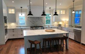 Kitchen Photo - Calacatta Super White finished