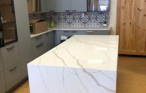 Kitchen Photo - Calacatta Tuono finished
